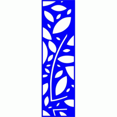 Cnc Panel Laser Cut Pattern File cn-l368 Free CDR Vectors Art