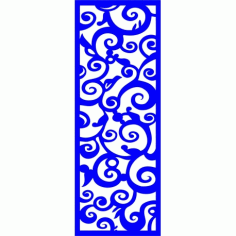 Cnc Panel Laser Cut Pattern File cn-l366 Free CDR Vectors Art