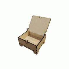 Shkatulka 100kh120kh55 Na Lazerv Wooden Box Free CDR Vectors Art