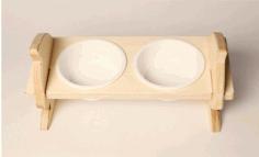 Wooden Podstavka Free CDR Vectors Art