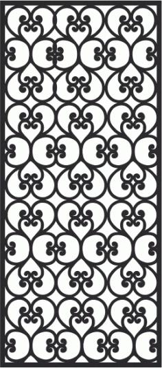 Jali Patterns-022 Free CDR Vectors Art