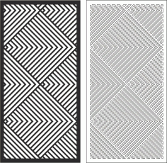 Linear Pattern Free CDR Vectors Art