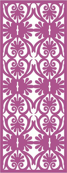 Floral Motif Vector Seamless Pattern Free CDR Vectors Art