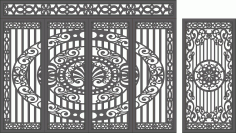 CNC Plasma Gate Free CDR Vectors Art