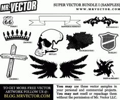 Free Super Vector Bundle Samples Free CDR Vectors Art
