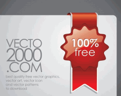 Red discount tickets Free CDR Vectors Art