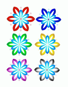 Flower Free CDR Vectors Art