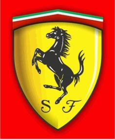 Ferrari New Logo Free CDR Vectors Art