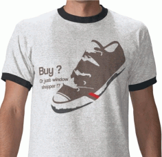 Shoe Funny T Shirt Free CDR Vectors Art