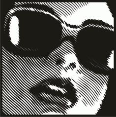 Female Clip Art Silhouette m4 Free CDR Vectors Art