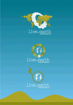 Live Earth Free Logo Design Clip Art Free CDR Vectors Art