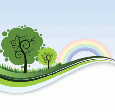 Landscape Banner Template Clip Art Free CDR Vectors Art