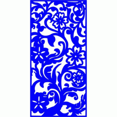 Cnc Panel Laser Cut Pattern File cn-l331 Free CDR Vectors Art