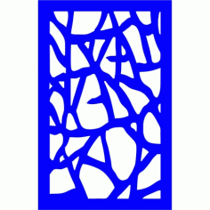 Cnc Panel Laser Cut Pattern File cn-l332 Free CDR Vectors Art