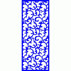 Cnc Panel Laser Cut Pattern File cn-l338 Free CDR Vectors Art