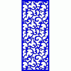 Cnc Panel Laser Cut Pattern File cn-l339 Free CDR Vectors Art