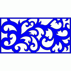 Cnc Panel Laser Cut Pattern File cn-l341 Free CDR Vectors Art