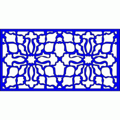 Cnc Panel Laser Cut Pattern File cn-l363 Free CDR Vectors Art