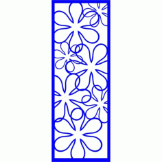 Cnc Panel Laser Cut Pattern File cn-l360 Free CDR Vectors Art