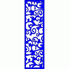 Cnc Panel Laser Cut Pattern File cn-l355 Free CDR Vectors Art
