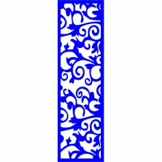 Cnc Panel Laser Cut Pattern File cn-l354 Free CDR Vectors Art