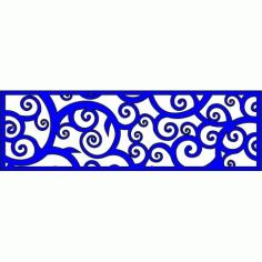 Cnc Panel Laser Cut Pattern File cn-l351 Free CDR Vectors Art