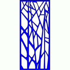 Cnc Panel Laser Cut Pattern File cn-l348 Free CDR Vectors Art