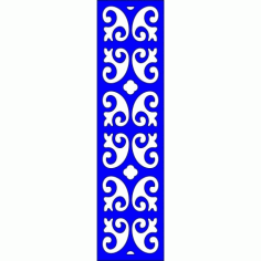 Cnc Panel Laser Cut Pattern File cn-l325 Free CDR Vectors Art