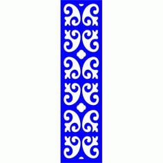 Cnc Panel Laser Cut Pattern File cn-l324 Free CDR Vectors Art