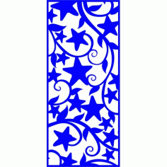 Cnc Panel Laser Cut Pattern File cn-l322 Free CDR Vectors Art