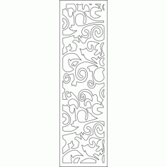 Cnc Panel Laser Cut Pattern File cn-l315 Free CDR Vectors Art