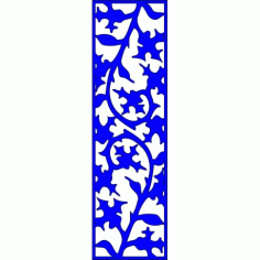 Cnc Panel Laser Cut Pattern File cn-l311 Free CDR Vectors Art