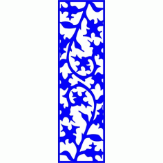Cnc Panel Laser Cut Pattern File cn-l310 Free CDR Vectors Art