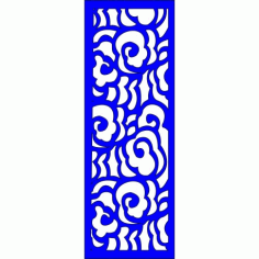 Cnc Panel Laser Cut Pattern File cn-l306 Free CDR Vectors Art
