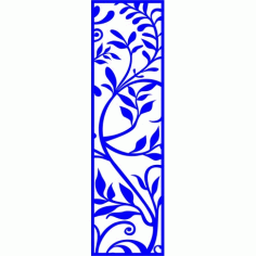 Cnc Panel Laser Cut Pattern File cn-l295 Free CDR Vectors Art