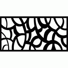 Cnc Panel Laser Cut Pattern File cn-l283 Free CDR Vectors Art