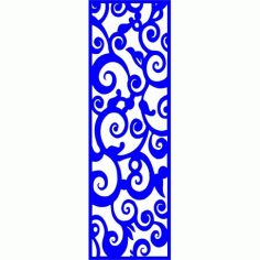 Cnc Panel Laser Cut Pattern File cn-l279 Free CDR Vectors Art