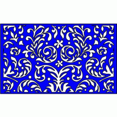 Cnc Panel Laser Cut Pattern File cn-l274 Free CDR Vectors Art