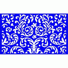 Cnc Panel Laser Cut Pattern File cn-l273 Free CDR Vectors Art
