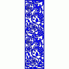 Cnc Panel Laser Cut Pattern File cn-l261 Free CDR Vectors Art