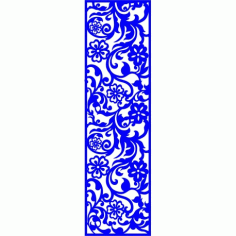 Cnc Panel Laser Cut Pattern File cn-l260 Free CDR Vectors Art
