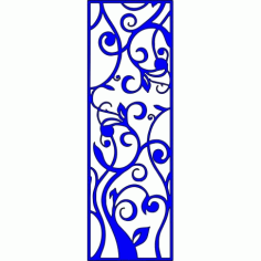 Cnc Panel Laser Cut Pattern File cn-l259 Free CDR Vectors Art