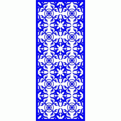 Cnc Panel Laser Cut Pattern File cn-l256 Free CDR Vectors Art