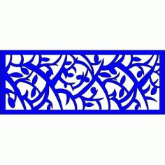 Cnc Panel Laser Cut Pattern File cn-l255 Free CDR Vectors Art