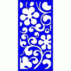 Cnc Panel Laser Cut Pattern File cn-l251 Free CDR Vectors Art