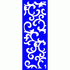 Cnc Panel Laser Cut Pattern File cn-l247 Free CDR Vectors Art