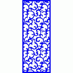 Cnc Panel Laser Cut Pattern File cn-l245 Free CDR Vectors Art