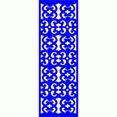 Cnc Panel Laser Cut Pattern File cn-l243 Free CDR Vectors Art
