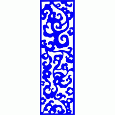 Cnc Panel Laser Cut Pattern File cn-l237 Free CDR Vectors Art