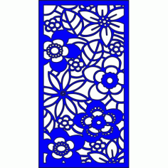 Cnc Panel Laser Cut Pattern File cn-l235 Free CDR Vectors Art